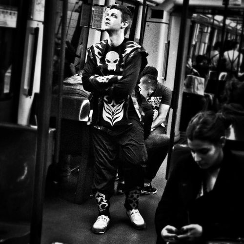 Carnaval Streetphoto_bw Eye4photography Streetphotography