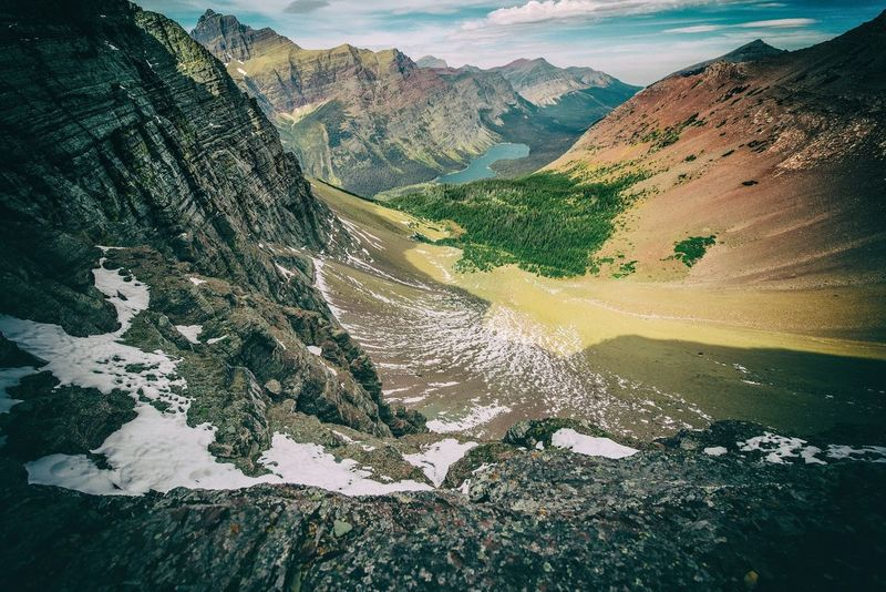 Ptarmigan Pass in the stunning Glacier National Park - aptly named the crown of the continent Glaciernationalpark Mountains Landscape Adventure Hiking Exploring Montana