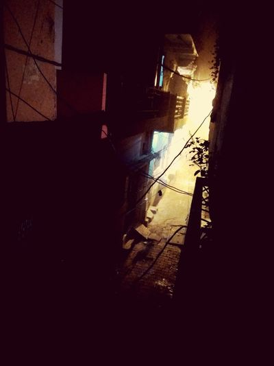 Backalley AtNight 11:59pm Darkness