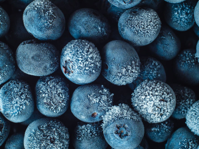 Healthy Breakfast: Close up of frozen blueberries, macro shot, top view Blueberry Breakfast Frozen Food Vegan Fruit Antioxidant Food And Drink Food Full Frame Close-up Freshness Backgrounds No People Wellbeing Indoors  Healthy Eating Large Group Of Objects Abundance Still Life Arrangement Textured  Repetition Sweet Food Pattern Stone Temptation Pebble