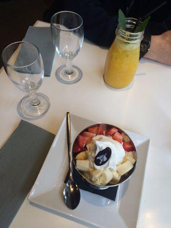 Frozenyogurt Paradisdufruit