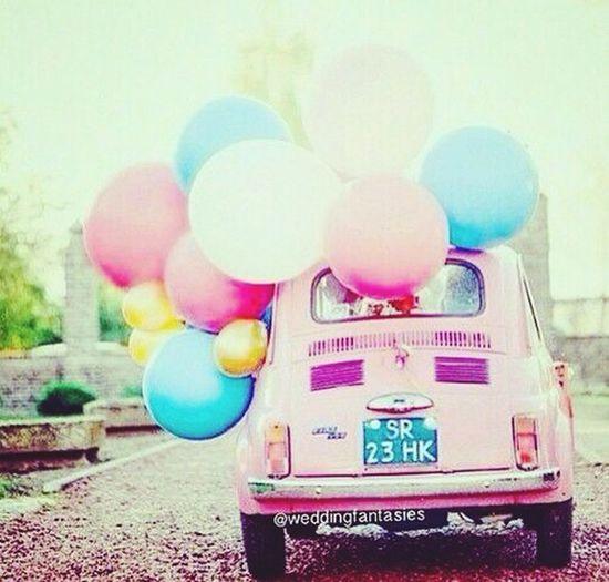 Vocho Vochito vocho rosa Pink Cosiiiiiiiii Cosita Jajajaja...!!! Globos Checking In Car Car Wash