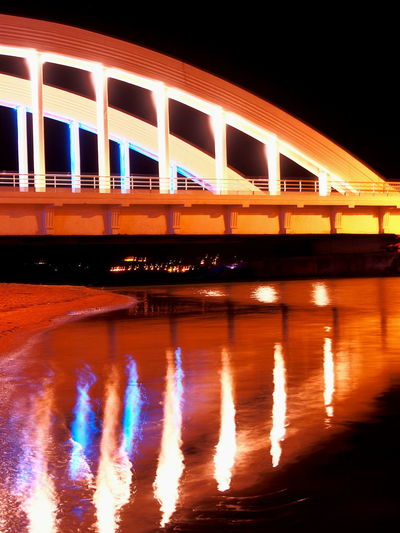 Architecture Bridge Bridge - Man Made Structure City City Life Illuminated Long Exposure Nature Nature On Your Doorstep Nature Photography Nature_collection Night Night Lights Night View Nightphotography Relaxing River River View Riverscape Riverside Saint Maxime Urban Water Water Reflections Waterfront