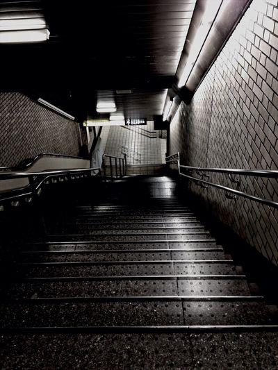 Stairs Subway Station EarlGrey Goodmorning :)