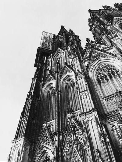 ▪️▫️ Köln Cologne Colognecathedral Blackandwhite City