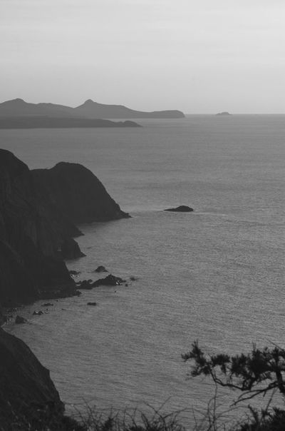 Seascape Beauty In Nature Clouds And Sky Sea View Pembrokeshire Coast Great Atmosphere Blackandwhite Pembrokeshire Coast Out For A Walk Nature Silhouette