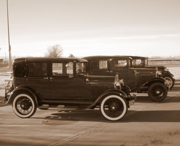 Antique Car Automobile Automobile,vintage,classic,outrageous Automotive Photography Check This Out City City Life Day Gangsters Paradise Land Vehicle Mode Of Transport No People Old Outdoors Parked Parking Parking Lot Road Sepia Sepia_collection Sky Stationary Transportation Vintage Vintage Cars