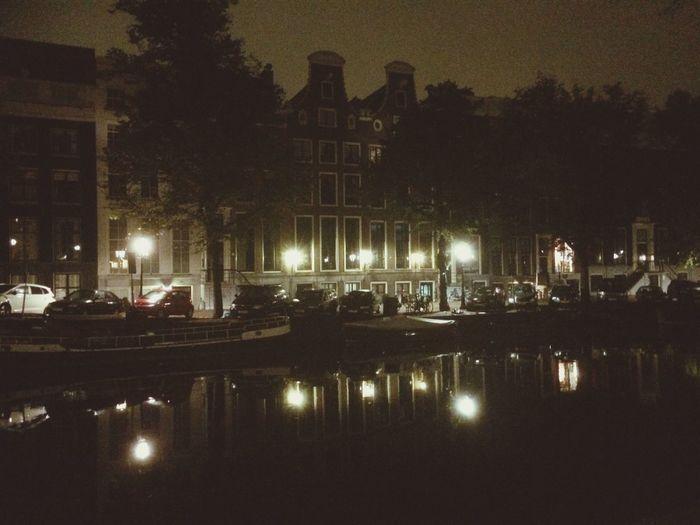 Amsterdam I Love Weed Happy Life Reflection