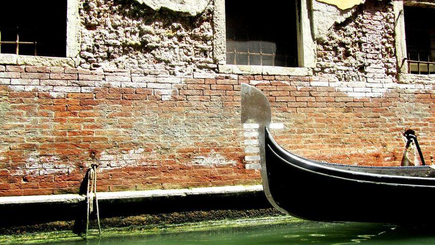 Gondola Gondole In Venice Venice Italy Summer Water Outdoors Wall Urban Exploration Clasic Antique