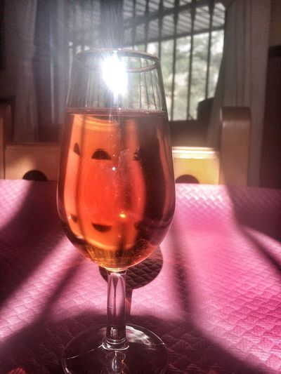 Respect For The Good Taste Food And Drink Drink Indoors  Refreshment Wineglass Spain aAlcoholfFreshnesstTablecClose-uprRedhHealthy EatingnNo PeoplewWineaAlcoholic DrinkhHalf FullwWhiskeydDay Break The Mold