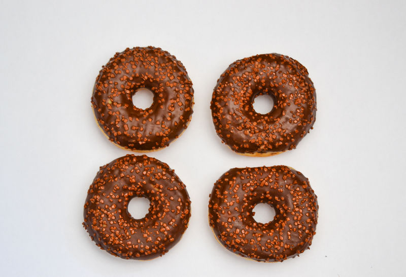 Baked Brown Close-up Dessert Donut Fast Food Food Food And Drink Freshness Glazed Food Gourmet Indoors  Indulgence No People Plate Ready-to-eat Snack Studio Shot Sweet Food Temptation Unhealthy Eating White Background