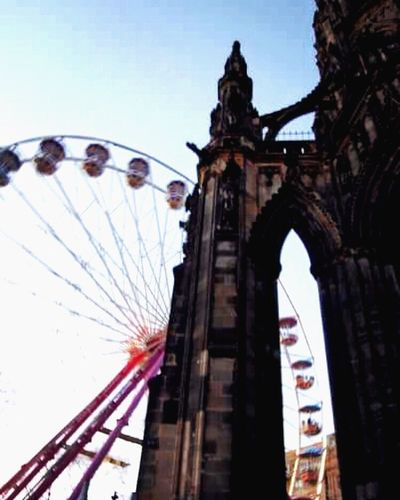 Edinburgh Scott Monument Princes Street Christmas Market First Eyeem Photo
