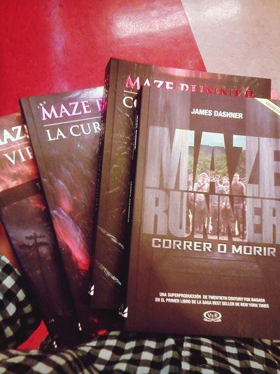 ????? Maze Runner Books ♥