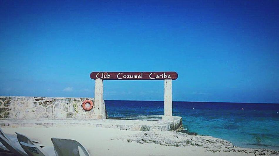 Mexico Cozumel #sky #blue #mexico Cozumel Beach