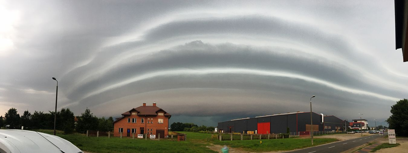 Storm Cloud - Sky Sky Nature Day Bed Morning Check This Out Nature Outdoors Springtime Beauty In Nature Thursday Panorama