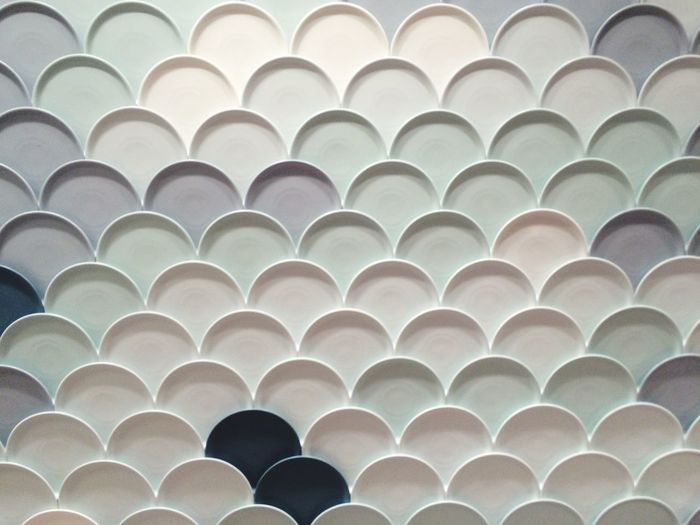 Installation Interesting Pieces Details Design Pattern, Texture, Shape And Form Abstract Dishes Pattern Interiordesign Interior Fair Exhibition Circle Round