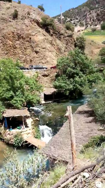 Ayoun oum rabie maroc Nature Water Beauty In Nature Tranquility Tranquil Scene Tree