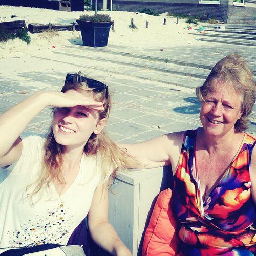 met mama :)