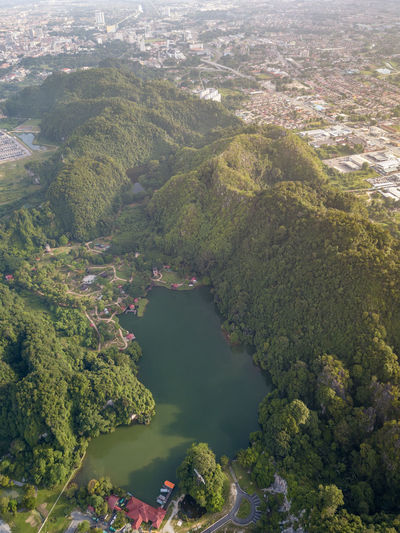 Lake and rainforest Water High Angle View Scenics - Nature Tree Nature Day Beauty In Nature Plant No People River Green Color Outdoors Tranquility Land Tranquil Scene Aerial View Aerial Landscape Aerial Photography EyeEm Best Shots EyeEm Nature Lover EyeEm Selects Rainforest