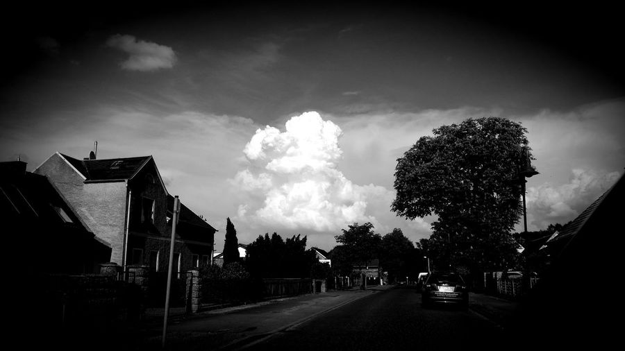 Black & White Landscape Nature Cloud - Sky Clouds And Sky Cloud Tree Silhouette Sky Cloud - Sky