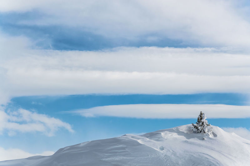 Panoramic view of clouds against sky