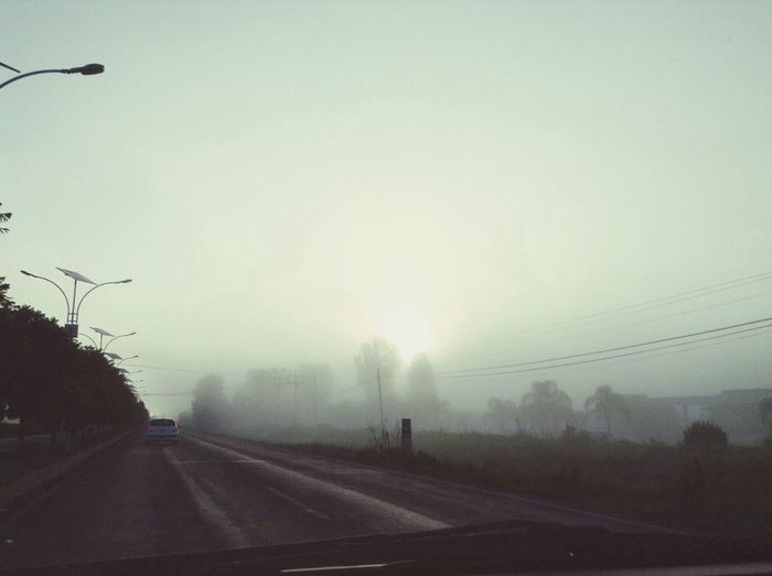 On The Road Going To School Fog Silent Hill