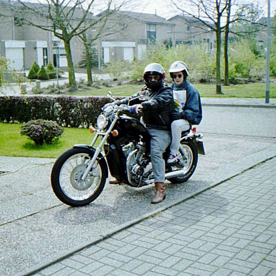 Me And My Daughter Motorcyle Suzuki Intruder 750