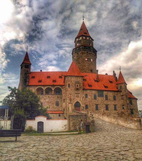 Castle View  Castle Towers Fairytale Castle Czech Republic History Building Castle In Czech Republic Place Of Worship History
