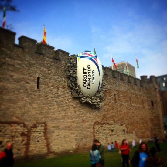 RWC2015 Rugby Wales Cardiff Cardiff Castle Sport Pride