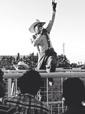 Payaso de rodeo! Clown Rodeo Cowboy Popular Photos credit for