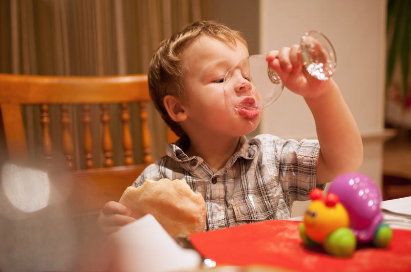 Appetite Boy Cafe Caucasian Child Childhood Cute Dinner Drink Food Glass Healthy Kid Little Male One Person Pie Restaurant