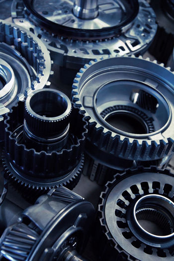 automobile gear assembly Automobile Maintaining Repair Shop Service Services Auto Automatic Transmission Automobile Gear Automobile Industry Automotive Car Car Service Close-up Engine Engineer Garage Gear Maintainance No People Part Repair Service Station Technology