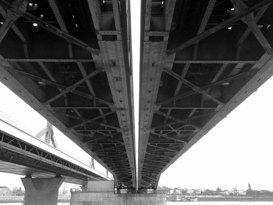 Blackandwhite Bridge Under The Bridge Bnw_friday_challenge