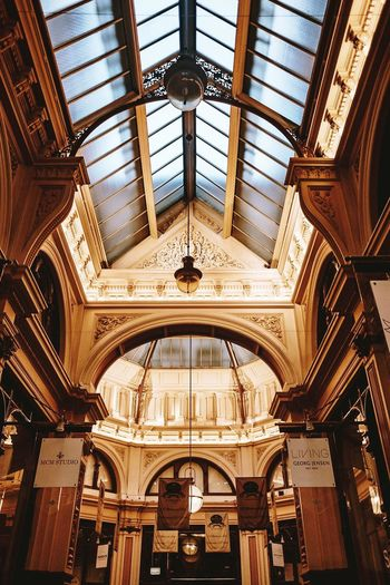 Architecture Indoors  Built Structure Ornate Dome No People Travel Destinations Day Baroque Style