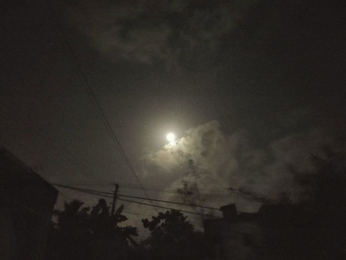 Moon Moonlight Earthday Chandamama Clouds And Sky