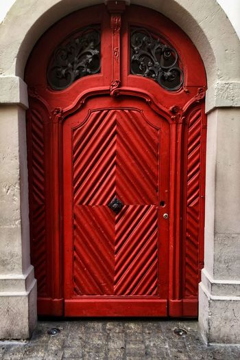 Doors in Bamberg #2 Reddoor Bamberg  Red Door Red Bayern Türen Doors Door Closed Red Entrance Architecture No People Built Structure Security Building Exterior Safety Protection Day Pattern Building Wood - Material Outdoors Arch Metal Brown