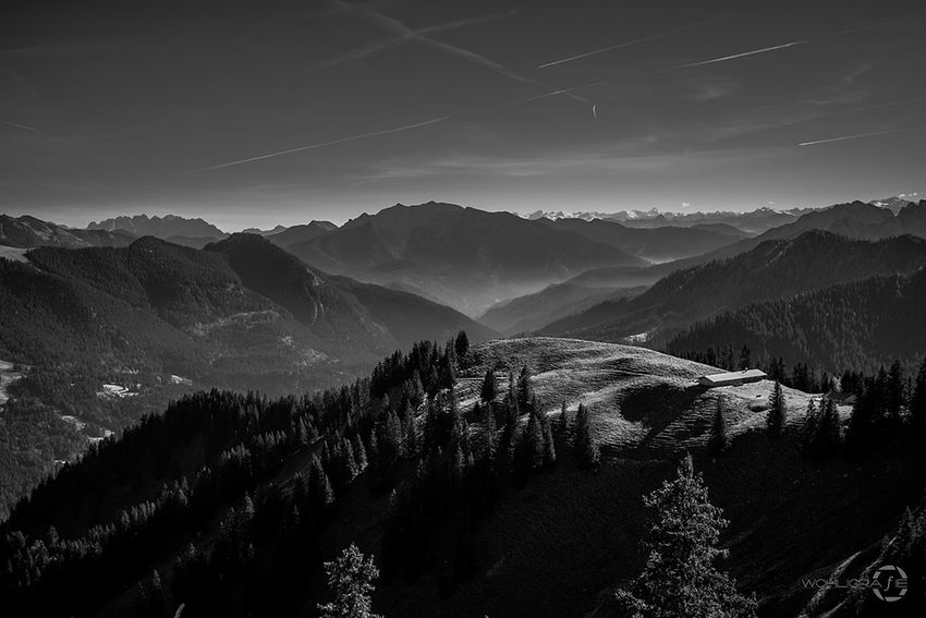 Mountain View Landscape Tree Travel Nature Mountain No People Outdoors Hanging Out Sky Taking Photos Silhouette Day Fujifilm Mystical Atmosphere Fujifilm_xseries Beauty In Nature Fuji Cloud - Sky Mountain Peak Mystyle Mountain Range Journey Blac&white  Blackandwhitelandscape