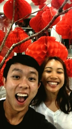 Joining in the CNY Fever with a late night movie with this cray cray gurl here. ? Fun Laugh Cny Sohigh