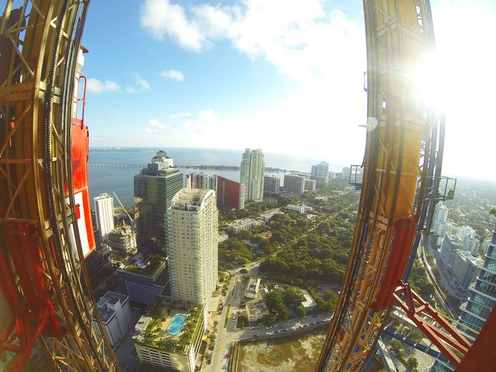 Enjoying The Sun Concrete Jungle City View  Discover Your City City Highrise Miami BrickellTakeover Eye4photography  Eyem Best Shots Eyeemphotography Goprooftheday GoPrography Nofilter#noedit