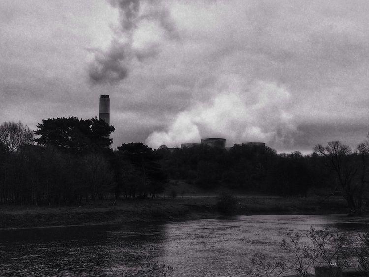 Power Station Blackandwhite