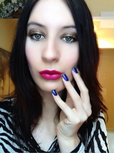 That's Me Make-up-4passionate-girls Fashion&love&beauty I Love My Nails <3