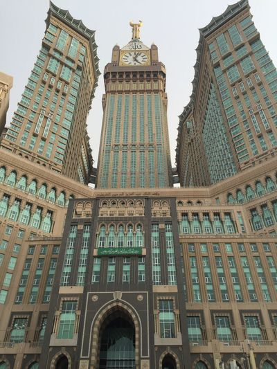 Zamzamtower Mecca Architecture Building Exterior Tall - High Buildings