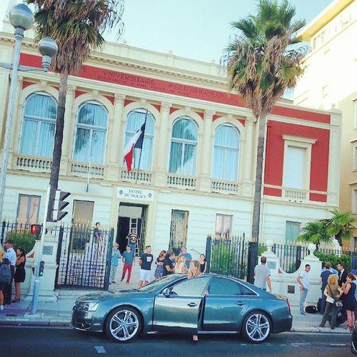 Tournage Transporteur 4 à Nice Nizza