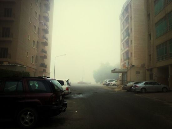 Just A Great Foggy Day In Kuwait
