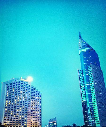 si gempal & si jangkung Jakartaselamanya City Landscape City Lights