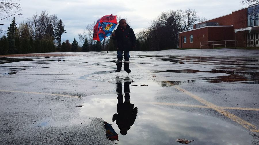 First Eyeem Photo Rain Rainy Days Raining Rain☔ Rainy Day Rainy Rainplay Rainplaying RainyDay Rain Day Splash Umbrella Umbrellas