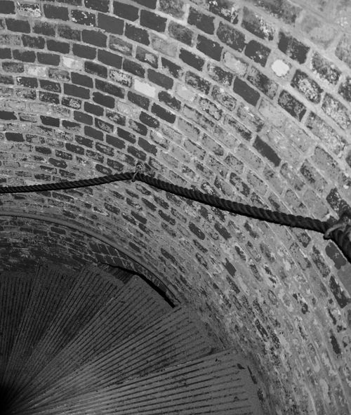 Full Frame Backgrounds Textured  Close-up Outdoors Day Concrete Wave Pattern Curve No People Creativity Stairs Staircase Lighthouse Sandy Hook NJ Spiral Staircase New Jersey Nj Old Buildings Famous Place Travel Destinations Architecture Black And White Blackandwhite Monochrome