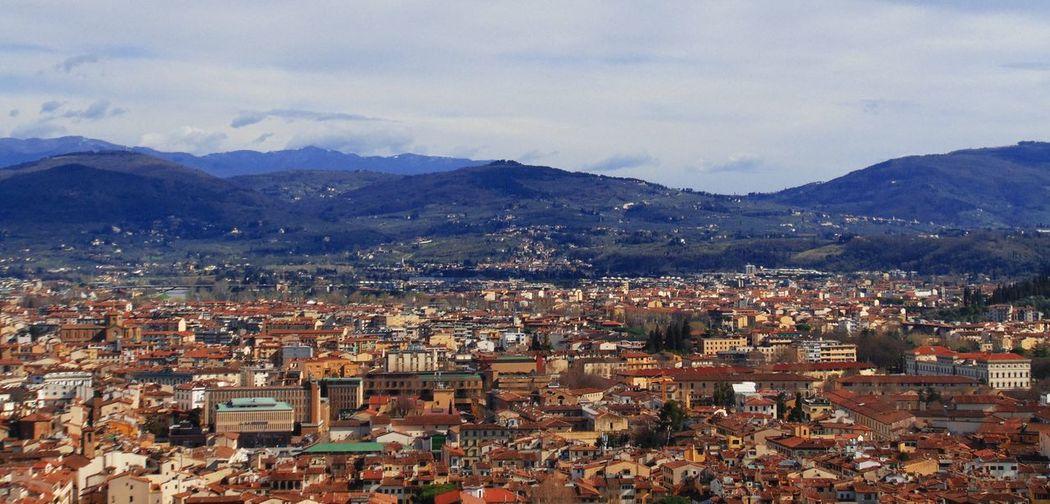 Hills Mountains Firenze Florence Tuscany Italy Italia Italian Landscapes