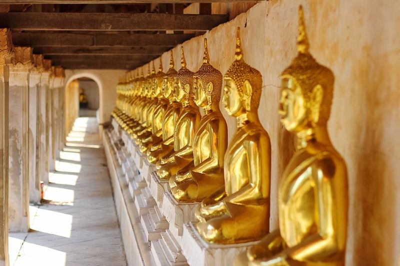 Buddha Statue In Thai Measure