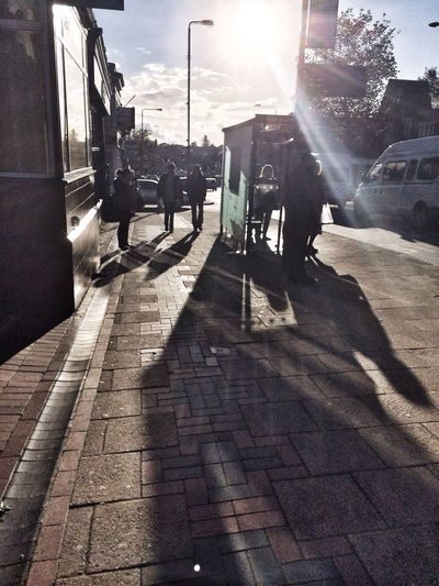 Bus Stop Sunshine